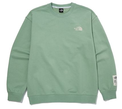THE NORTH FACE Sweatshirts Unisex Street Style Outdoor Sweatshirts 2