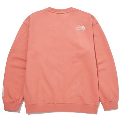THE NORTH FACE Sweatshirts Unisex Street Style Outdoor Sweatshirts 7