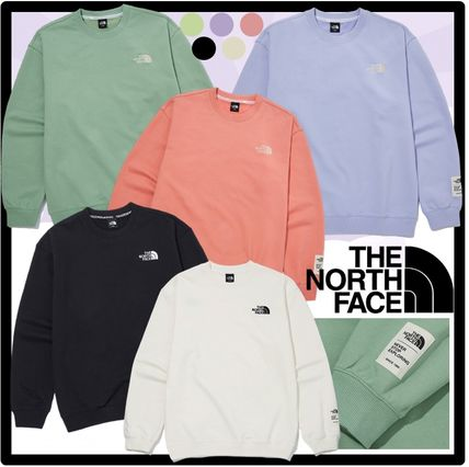 THE NORTH FACE Sweatshirts Unisex Street Style Outdoor Sweatshirts