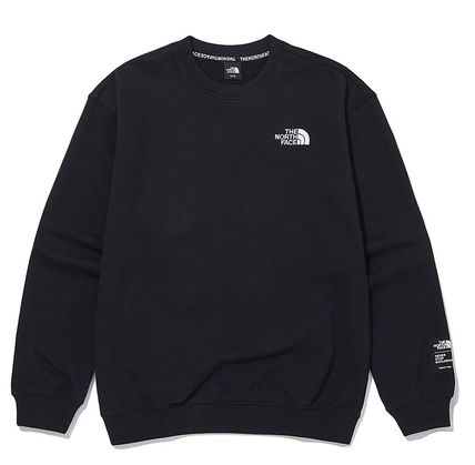 THE NORTH FACE Sweatshirts Unisex Street Style Outdoor Sweatshirts 15