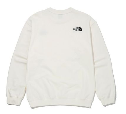 THE NORTH FACE Sweatshirts Unisex Street Style Outdoor Sweatshirts 19