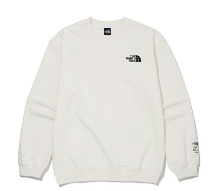 THE NORTH FACE Sweatshirts Unisex Street Style Outdoor Sweatshirts 20