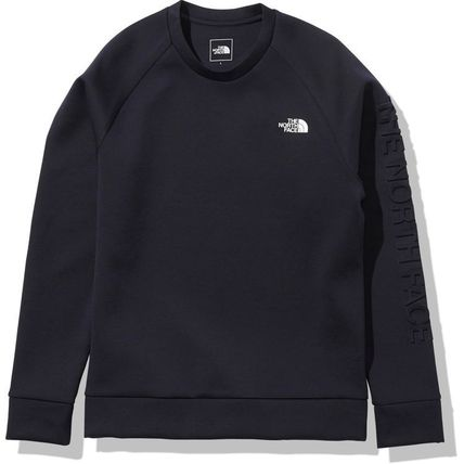 THE NORTH FACE Sweatshirts Unisex Long Sleeves Plain Logo Outdoor Sweatshirts 2