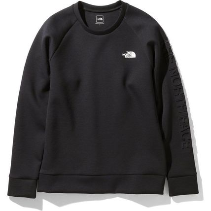 THE NORTH FACE Sweatshirts Unisex Long Sleeves Plain Logo Outdoor Sweatshirts 3