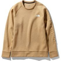 THE NORTH FACE Sweatshirts Unisex Long Sleeves Plain Logo Outdoor Sweatshirts 4