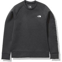 THE NORTH FACE Sweatshirts Unisex Long Sleeves Plain Logo Outdoor Sweatshirts 8