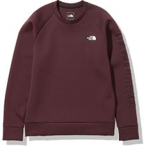 THE NORTH FACE Sweatshirts Unisex Long Sleeves Plain Logo Outdoor Sweatshirts 9
