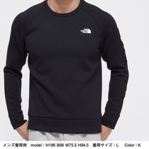 THE NORTH FACE Sweatshirts Unisex Long Sleeves Plain Logo Outdoor Sweatshirts 10
