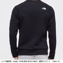 THE NORTH FACE Sweatshirts Unisex Long Sleeves Plain Logo Outdoor Sweatshirts 11