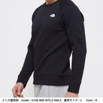THE NORTH FACE Sweatshirts Unisex Long Sleeves Plain Logo Outdoor Sweatshirts 12