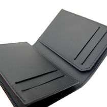 Dunhill Card Holders Collaboration Plain Leather Folding Wallet Card Holders 4