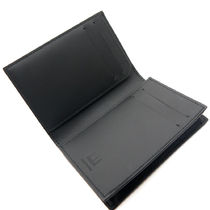 Dunhill Card Holders Collaboration Plain Leather Folding Wallet Card Holders 6