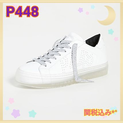 P448 Sneakers Street Style Leather PVC Clothing Dad Sneakers Logo Sneakers