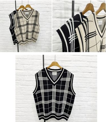 Vests & Gillets Unisex Street Style Oversized Vests & Gillets 2