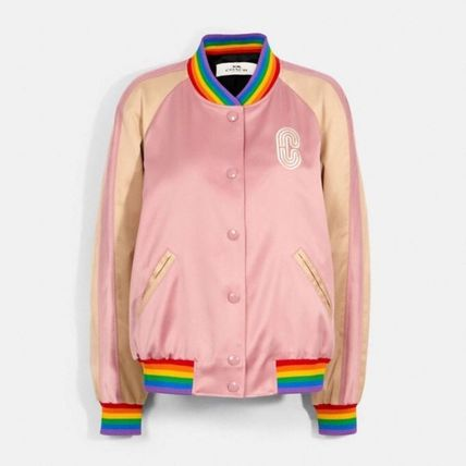 Coach Rainbow Souvenir Jacket