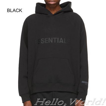 FEAR OF GOD ESSENTIALS Sweat Street Style Plain Hoodies