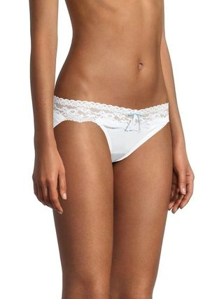 Nylon Plain Cotton Lace Underwear
