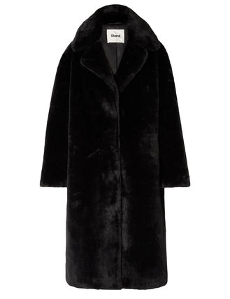 Casual Style Unisex Faux Fur Blended Fabrics Street Style A4