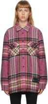 We11Done Other Plaid Patterns Casual Style Wool Long Sleeves