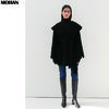Casual Style Wool Cashmere Plain Medium Handmade Party Style