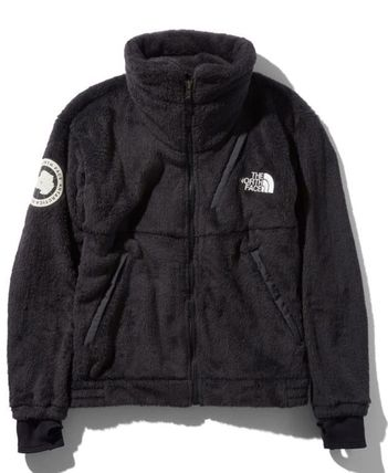 THE NORTH FACE Logo Short Unisex Street Style Khaki Jackets