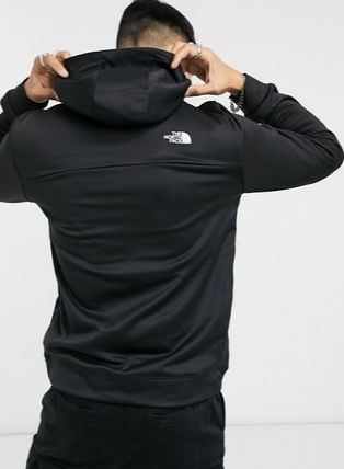 THE NORTH FACE Hoodies Pullovers Street Style Bi-color Long Sleeves Logo Outdoor 2