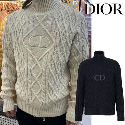 Christian Dior Vests & Gillets Stand Collar Sweater