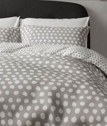 Dots Blended Fabrics Street Style Pillowcases