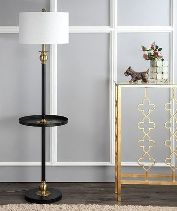 Gold Furniture Night Stands Lighting