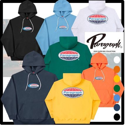 Paragraph Unisex Street Style Hoodies
