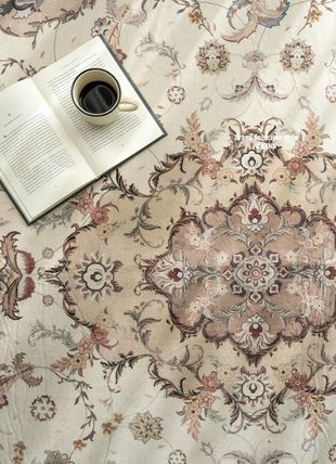 DECO VIEW Round Geometric Patterns Persian Style Morroccan Style