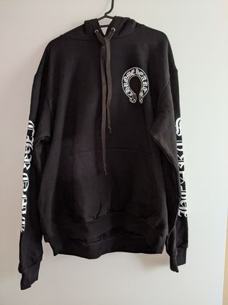 CHROME HEARTS Street Style Collaboration Hoodies