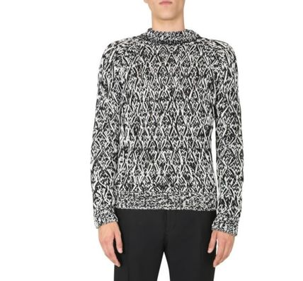 Saint Laurent Sweaters Unisex Street Style Luxury Sweaters 3