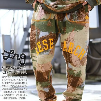 Tapered Pants Printed Pants Flower Patterns Star Camouflage