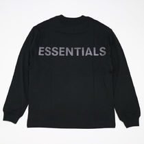 FEAR OF GOD ESSENTIALS Street Style Long Sleeves Long Sleeve T-shirt T-Shirts