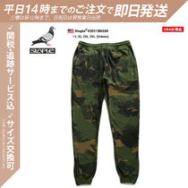 Staple Tapered Pants Printed Pants Camouflage Unisex Street Style