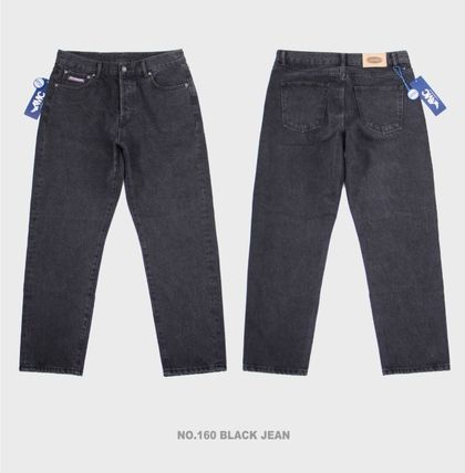 Paragraph More Jeans Unisex Street Style Jeans 2