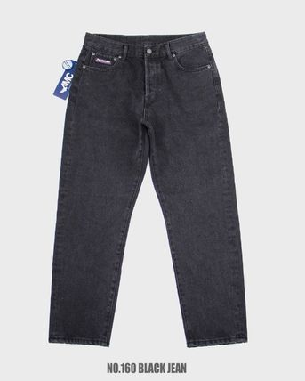 Paragraph More Jeans Unisex Street Style Jeans 3
