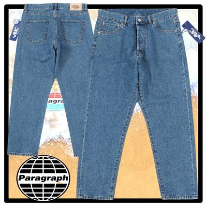 Paragraph More Jeans Unisex Street Style Jeans