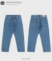 Paragraph More Jeans Unisex Street Style Jeans 8