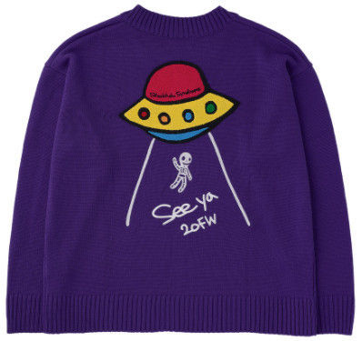 STOCKHOLM SYNDROME Sweaters Street Style Long Sleeves Logo Sweaters 2