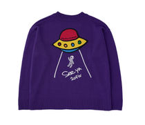 STOCKHOLM SYNDROME Sweaters Street Style Long Sleeves Logo Sweaters 5