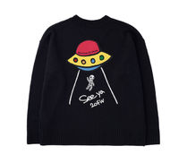 STOCKHOLM SYNDROME Sweaters Street Style Long Sleeves Logo Sweaters 12