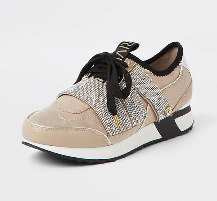 River Island Casual Style Logo Low-Top Sneakers