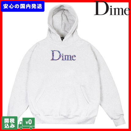 Dime Hoodies Pullovers Unisex Sweat Street Style Long Sleeves Plain
