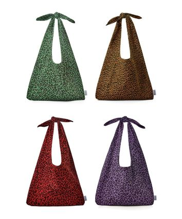 SOMETHING GOOD Leopard Patterns Totes