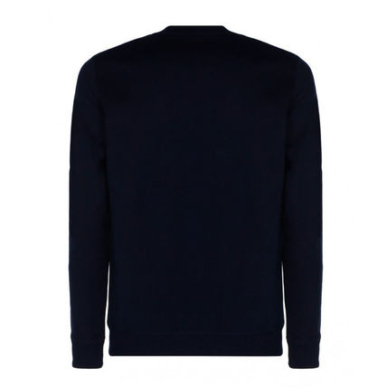LOEWE Sweatshirts Crew Neck Sweat Long Sleeves Cotton Logo Luxury Sweatshirts 3