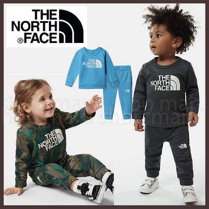 THE NORTH FACE Loungewear Street Style Baby Girl Tops