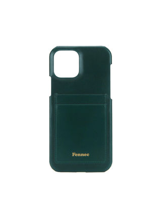 Plain Leather Logo Smart Phone Cases