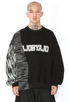 Long Sleeve Unisex Street Style U-Neck Long Sleeves Cotton 13